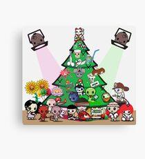 mikoto's Christmas Canvas Print