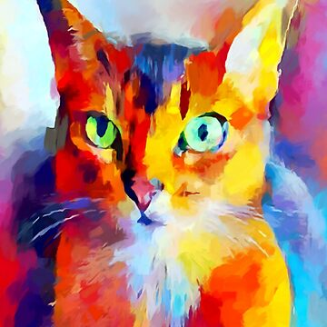 Abyssinian Cat by ChrisButler