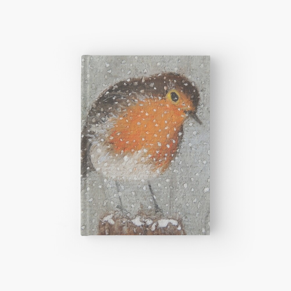 I Love Snow Hardcover Journal