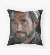 Dushanbe, Tajikistan Throw Pillow