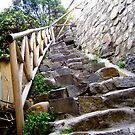 Stone Stairs. by MeBoRe
