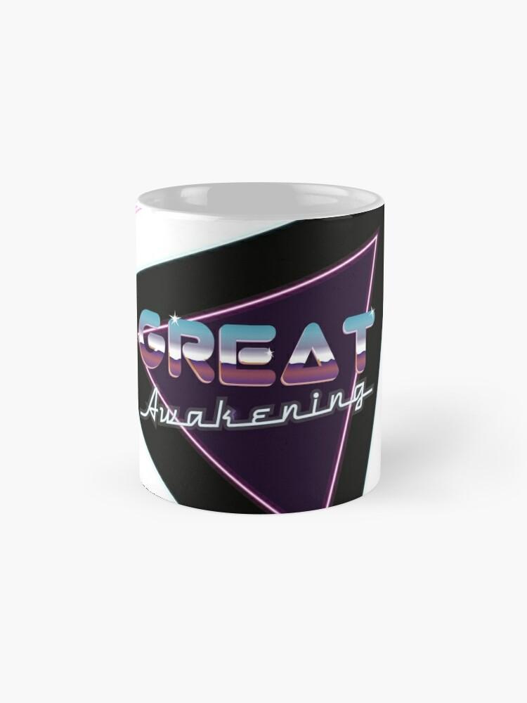 Alternate view of Great Awakening Retro Wave Mug