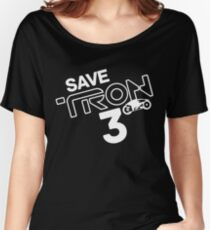 Save Tron 3 [white] Women's Relaxed Fit T-Shirt