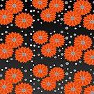 Orange Flower by JohannaDesign
