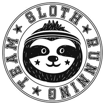 Sloth Running Team by dasha-d