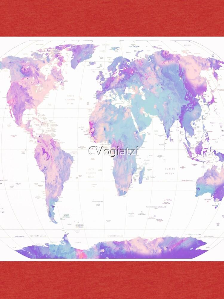Unicorn Earth Map by CVogiatzi