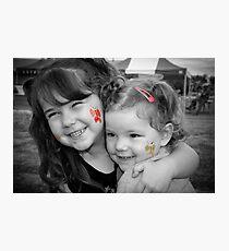 My nieces Photographic Print