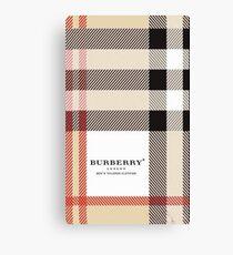 burberry Canvas Print