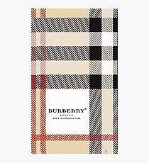 burberry Photographic Print