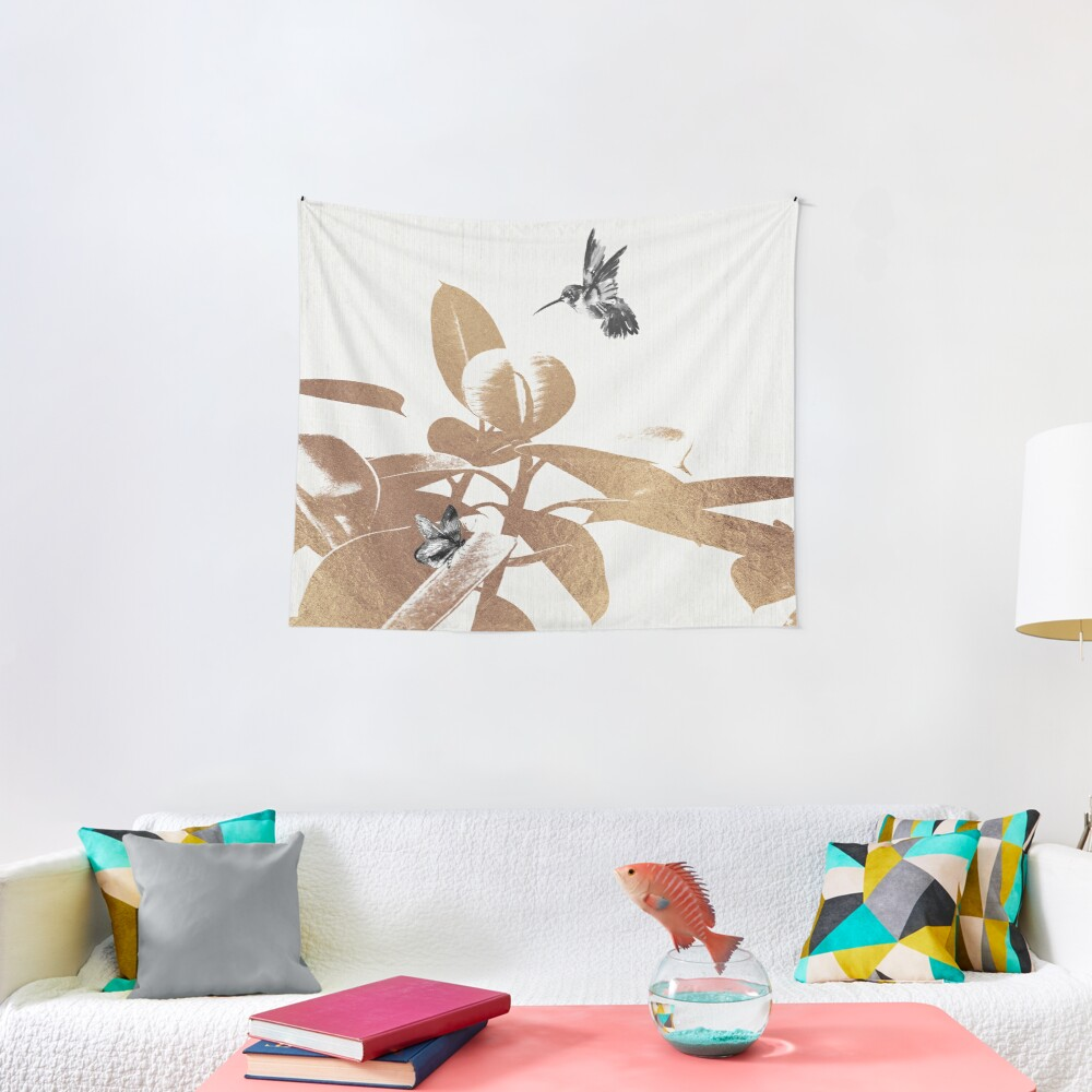 Fluttering Nature III Tapestry