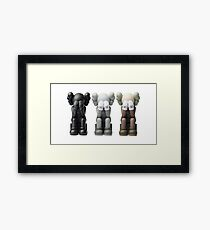 Kaws Fall / Winter collection Framed Print