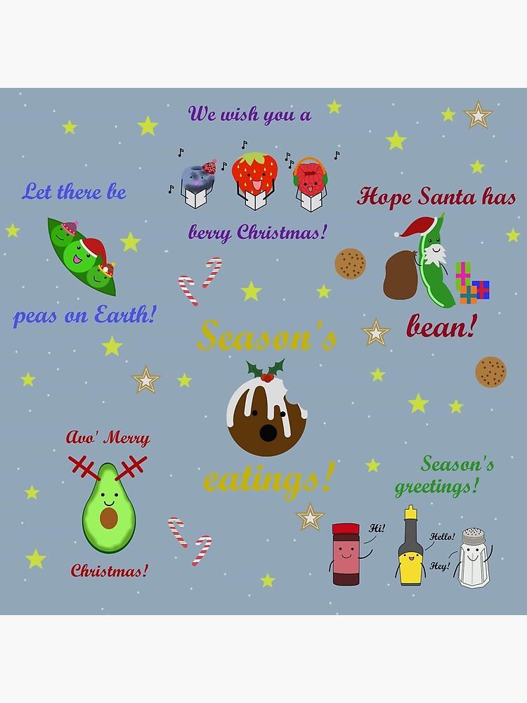 Cute Christmas Puns.Christmas Puns Poster