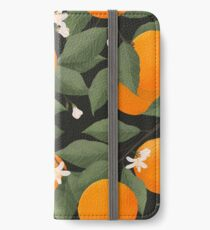 fresh citrus // dark iPhone Wallet/Case/Skin