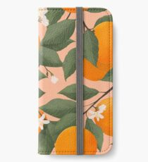 fresh citrus iPhone Wallet/Case/Skin