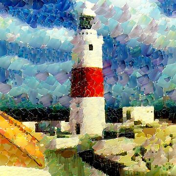 The Lighthouse, Gibraltar Point, Gibraltar 1938 by ZipaC