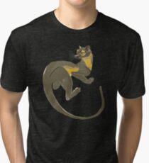 Fossa digital Art Civet World Tri-blend T-Shirt