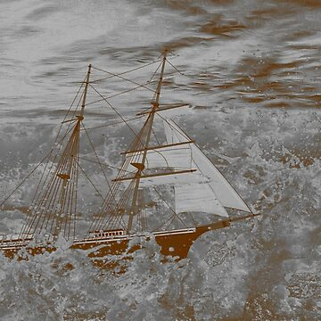 Mary Celeste - Crewless, Fights on Through the Raging Seas by ZipaC
