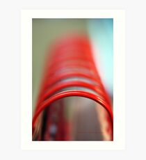 Tubular Spine © Vicki Ferrari Photography Art Print