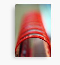 Tubular Spine © Vicki Ferrari Photography Canvas Print