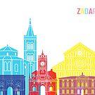Zadar Skyline Pop von paulrommer