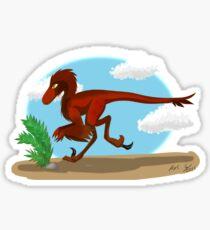 Utahraptor  Sticker