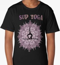 Sup Yoga Stand Up Paddle Sea Long T-Shirt