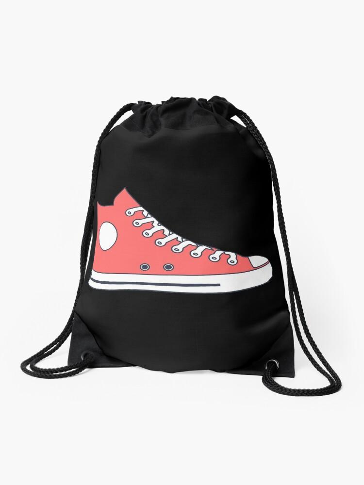 converse mochila cuerdas