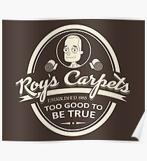 Roy's Carpets Poster