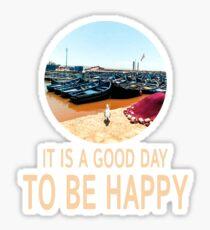 To Be Happy Sticker