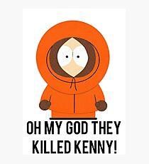 South Park Kenny Wandbilder Redbubble