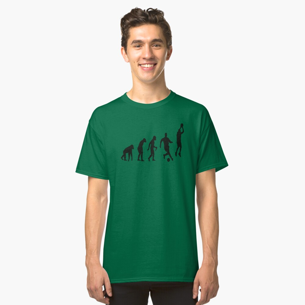 Evolution Of Sport Classic T-Shirt Front
