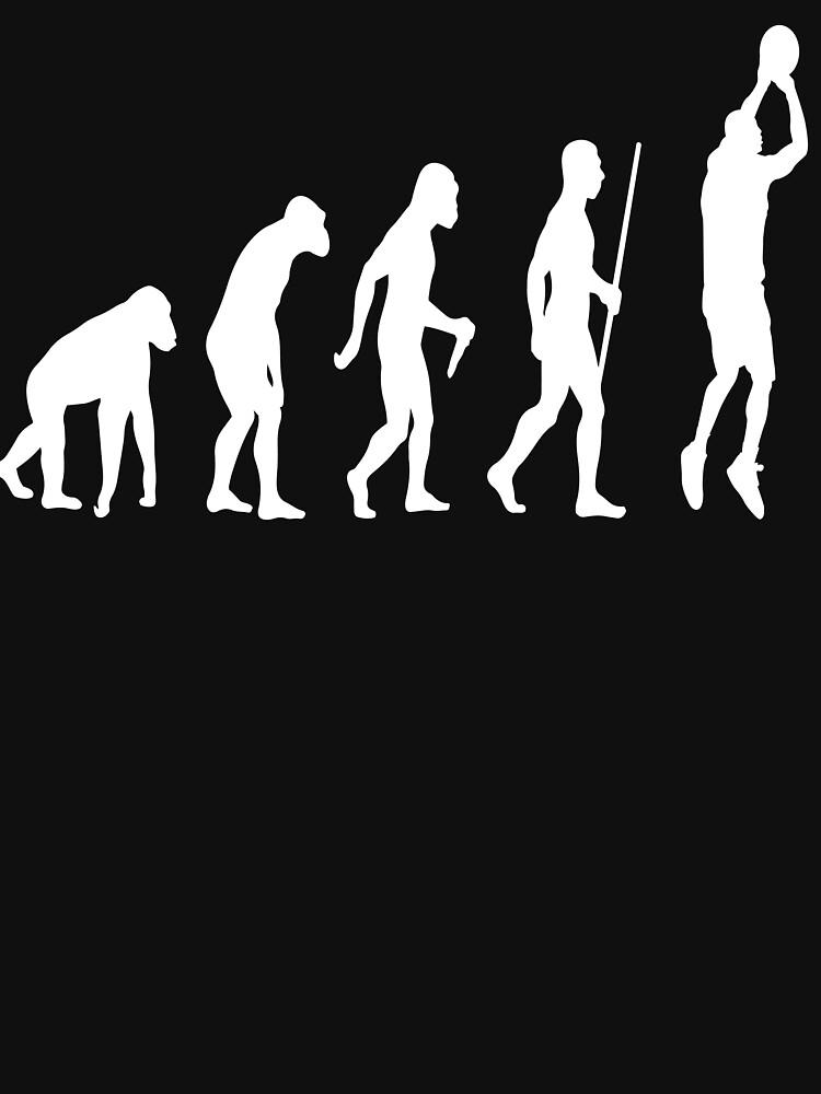 Basketball Evolution by Teepack