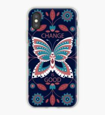 Change is Good - Winter Palette iPhone Case