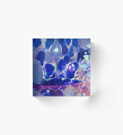 Glass Bulb Acrylic Block
