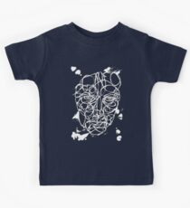 Ink Face Drawing Kids Tee