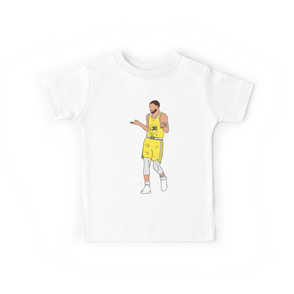 Steph Curry Shrug by RatTrapTees