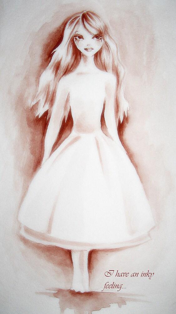 Inky Girl by mckieg02