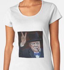Winston Churchill  Women's Premium T-Shirt