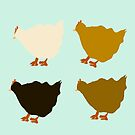 Hens Rule the Roost by southerlydesign