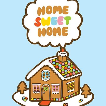 Home Sweet Home Gingerbread House by evannave