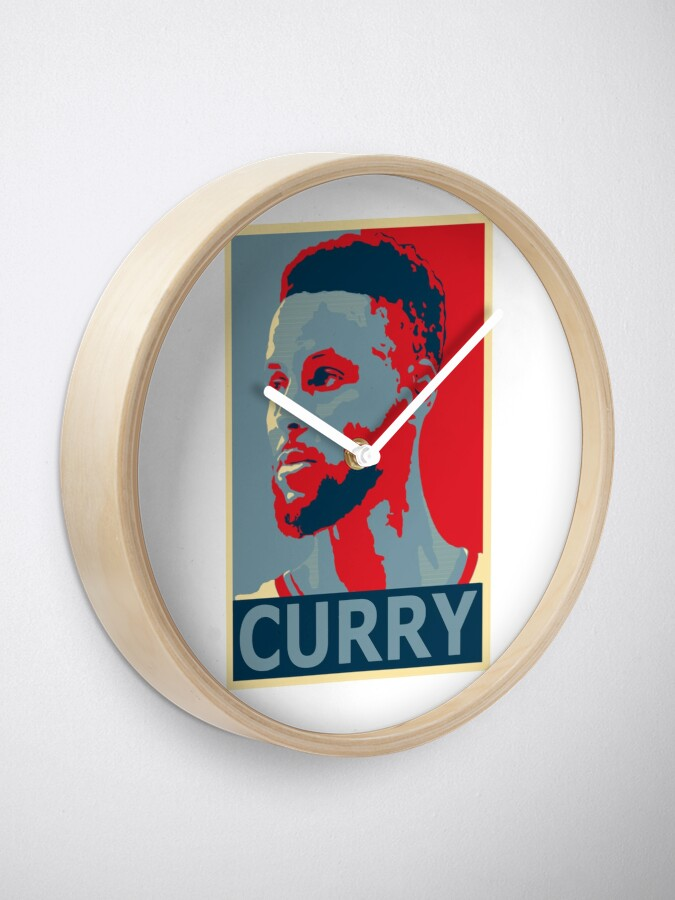 Alternate view of stephen curry  Clock