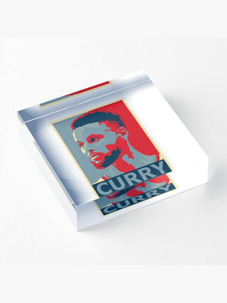 Alternate view of stephen curry  Acrylic Block