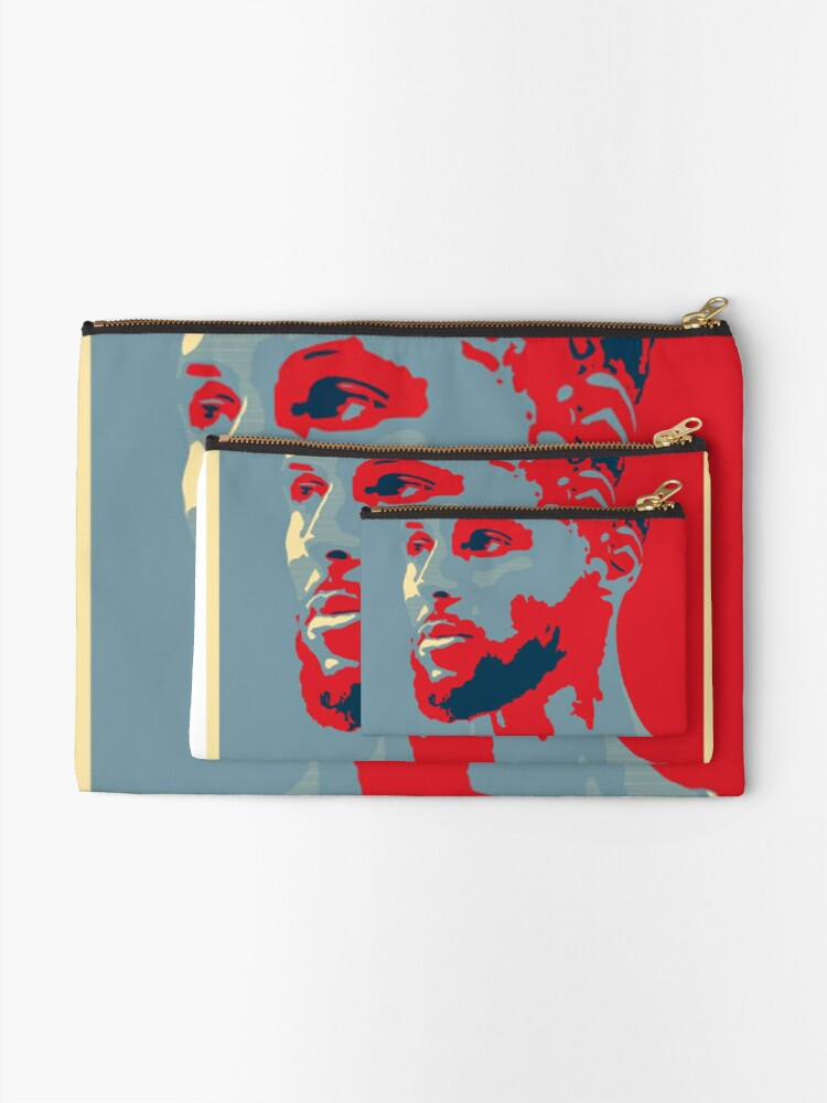 Alternate view of stephen curry  Zipper Pouch