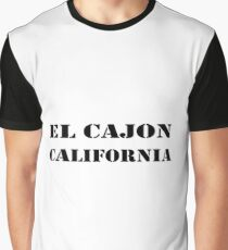 El Cajon California Graphic T-Shirt