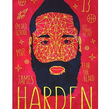 James Harden  by ibrahimGhd