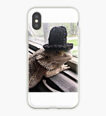 Portrait of the Smaug in a Top Hat, 2016 iPhone Case