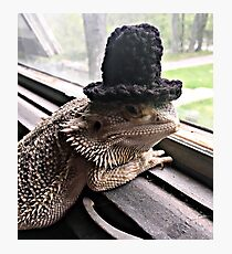 Portrait of the Smaug in a Top Hat, 2016 Photographic Print