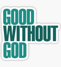 God without God Sticker