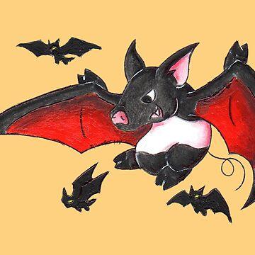 Fly, My Underlings! by KOKeefeArt