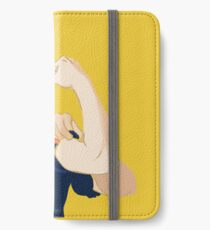 Rosie Riveter iPhone Flip-Case/Hülle/Skin
